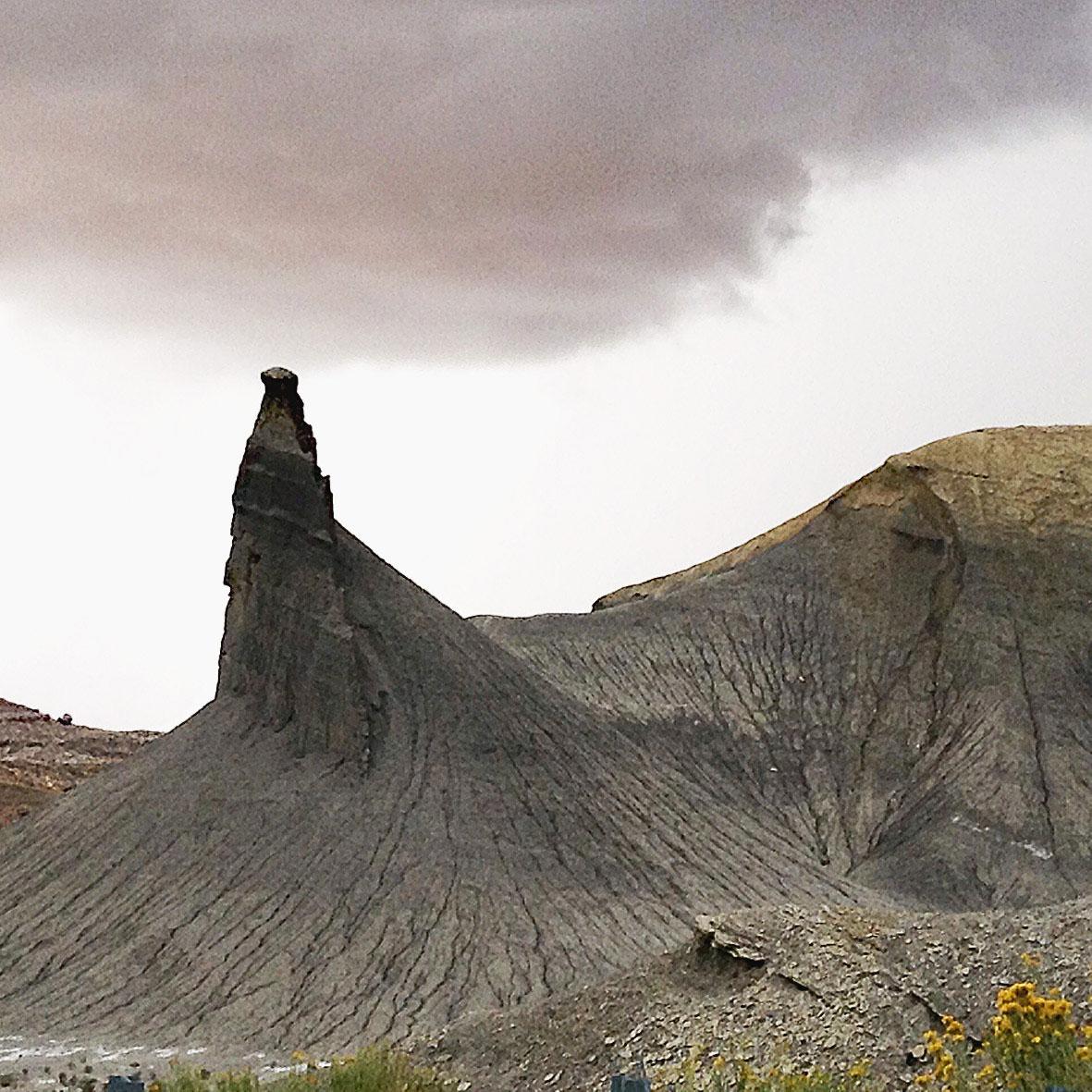 Cainville Badlands, Utah