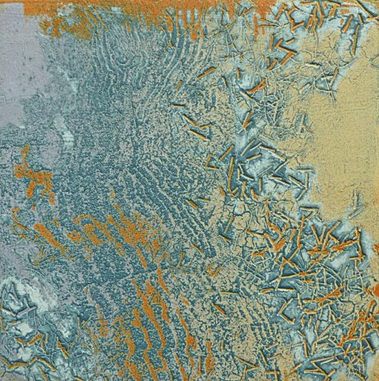 Flow 1, collagraph