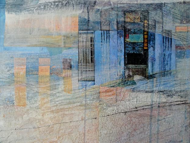 Casa Azul (detail)
